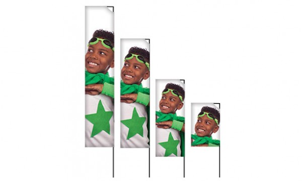 Reklaminės vėliavos SQUARE