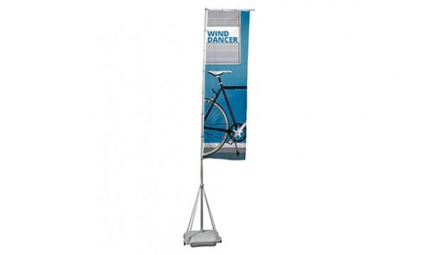 Reklaminės vėliavos Wind Dancer 5m