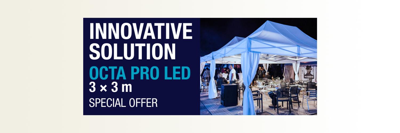 3x3 m Octa Pro LED