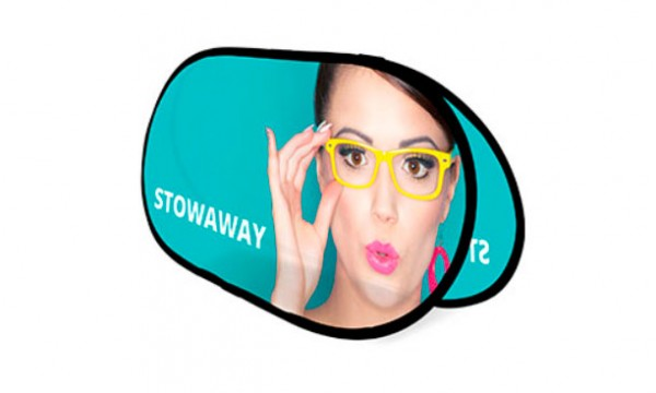 Reklaminė sienelė Stowaway